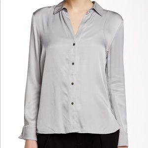 James Perse split back blouse